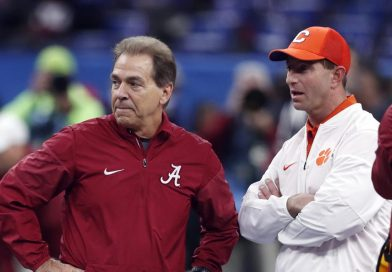 Dabo Swinney and Nick Saban